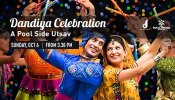 Dandiya Celebration -A Pool Side Utsav