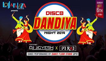 DISCO DANDIYA NIGHT -2019  || Lollapalooza Pune