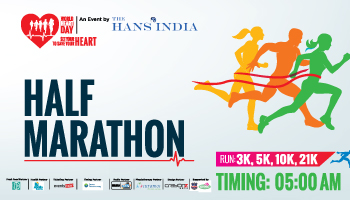 Half Marathon Run - For Healthy Heart