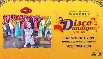Bangalores Biggest Disco Dandiya Vol  3