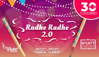 Radhe Radhe 2.0 (Dandiya Nights) at Hyatt
