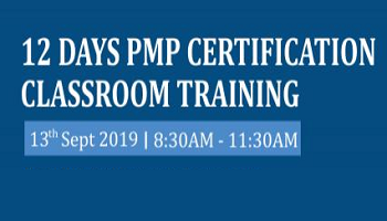 12 Days of PMP Certification Training in Hyderabad