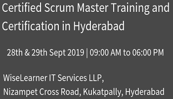 Best Certified Scrum Master Training and Certification with experienced trainers