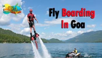 Flyboarding In Goa By Sea Water Sports