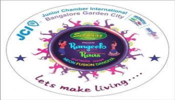 JCI BGC Vimal Sehnaaz Rangeelo Raas Neon Fusion Dandiya