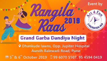 Rangila Raas 2019 Grand Garba Dandiya Night