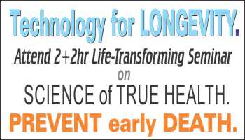 4hr PRSENTATION on SCIENCE of TRUE HEALTH , VITALITY leading to LONGEVITY.  SIMPLE SECRET for LONGEVITY