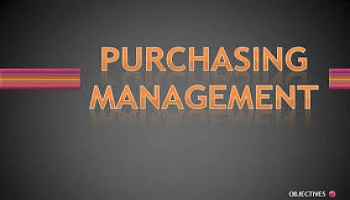 EFFECTIVE PURCHASE MANAGEMENT