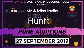 MR and MISS INDIA GLAM HUNT 2019  PUNE AUDITION