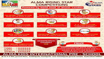 Alma rising star competitions hyderabad