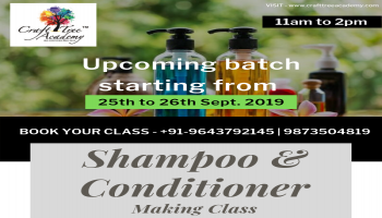 Shampoo and Conditioner Making Class