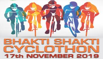IAS Bhakti Shakti Cyclothon 2019