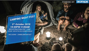 NIGHT CAMPING FEST