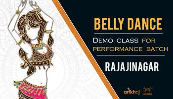 Belly Dance Demo Class (Rajajinagar)