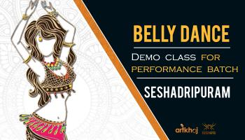 Belly Dance Demo Class (Seshadripuram)