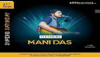 LIVE MUSIC PERFORMANCE BY MANIDAS