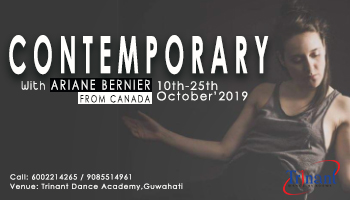 Contemporary Dance Intensive Workshop with Ariane Bernier