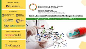 3rd World Congress On Genetics, Genomics And Personalized Medicine 2020 National