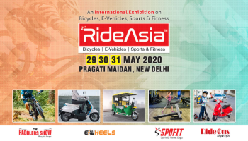 RideAsia 2020 Exhibition on Bicycles, E-vehicles, Sport, Fitness
