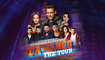 Da-Bangg The Tour, Hyderabad