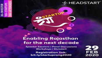 Startup Rang - 2020 - Enabling Rajasthan for the next decade