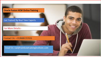 Which is the Best Institute for Oracle Fusion HCM Online Training?