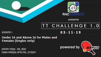 Presenting Rackonnect T T Challenge 1.0