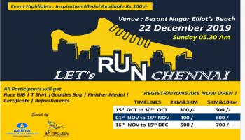 Lets Run Chennai 2019