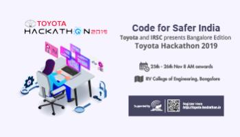 Toyota Hackathon 2019- Code for Safer India