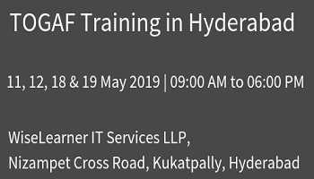 Best Training for Togaf in Hyderabad from experienced tutors