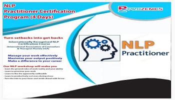 Certified NLP Practitioner Chennai 4 Days Workshop
