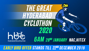The Great Hyderabad Cyclothon 2020