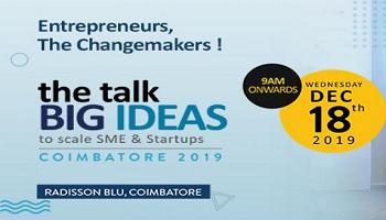 the talk BIG IDEAS Coimbatore 2019