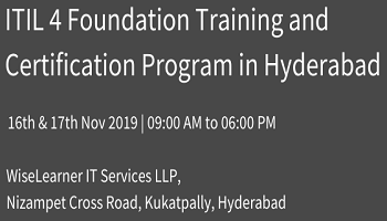 Training and Certification for ITIL Foundation with best trainer in city