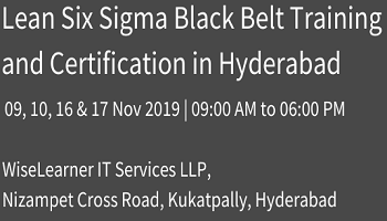 Training and Certification for Six Sigma Black Belt with best trainers in town