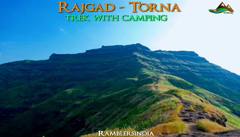 Rajgad to Torna trek with camping