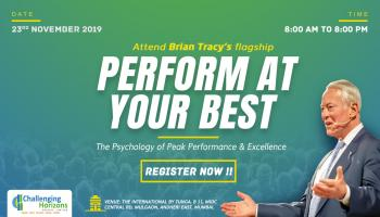 Inviting Business Professionals for Brian Tracy Signature Program - Perform At Your Best