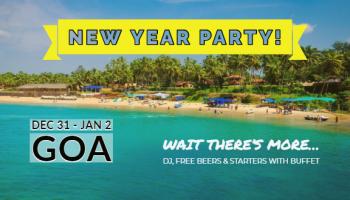 Goa New Year DJ Night and Water Sports