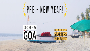 Goa Pre-New year Party with DJ Night and Water Sports
