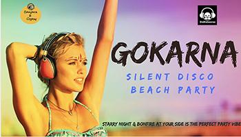 Silent Disco Beach Party at Gokarna