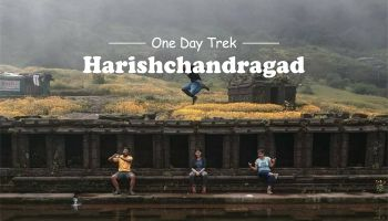 Mi durg Veda Present One Day Trek HarishchandraGad