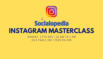 Instagram Masterclass at Rs.499