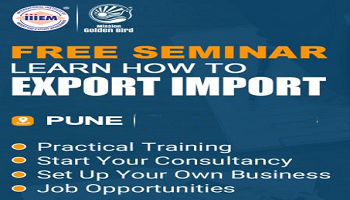 Free Seminar on Export Import at Pune