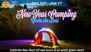 New Year Camping under the Stars 2020