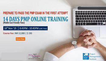14 Days CAPM / PMP Certification Online Training