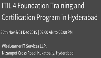 Training and Certification for ITIL Foundation with best trainer in town