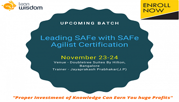 SAFe Agilist Training in Bangalore
