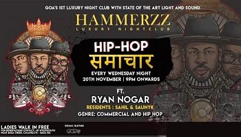 HIP HOP SAMACHAR (WEDNESDAY) - FEAT DJ RYAN NOGAR