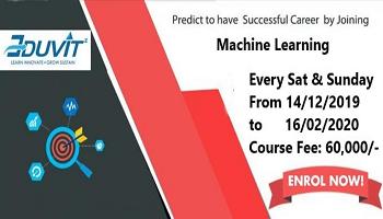 Eduvitz Machine Learning Course