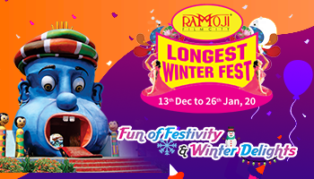 WINTER FEST - RAMOJI STUDIO TOUR